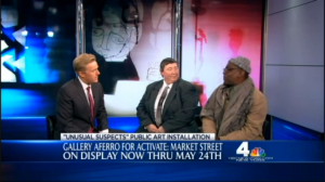 Jerry Gant and Evonne Davis on WNBC News